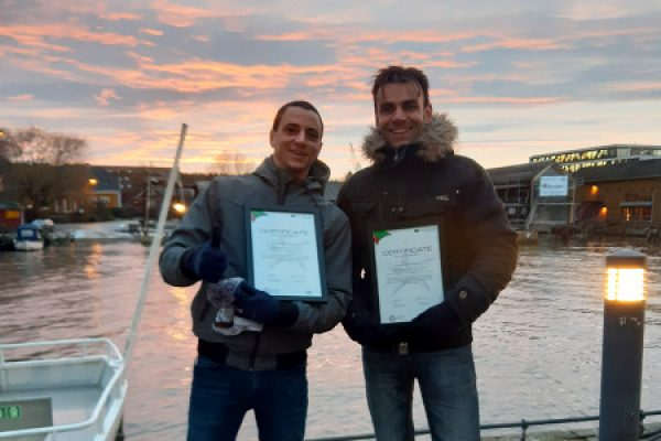 Seco Yachting certificate